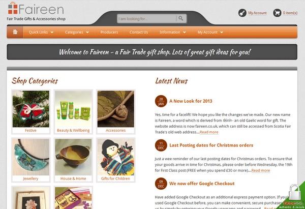 Faireen website