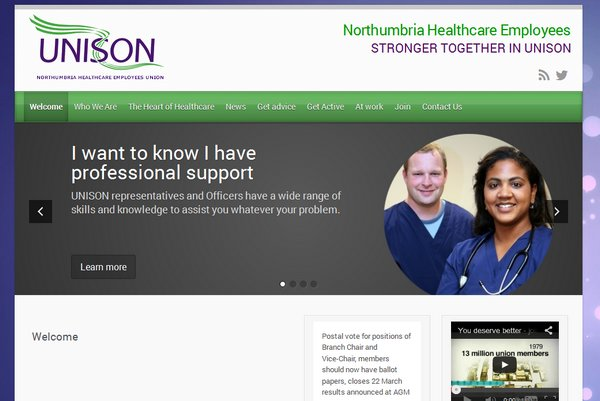 NHC UNISON Website